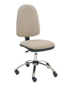 silla-escritorio-Torino-base-cromada-beig