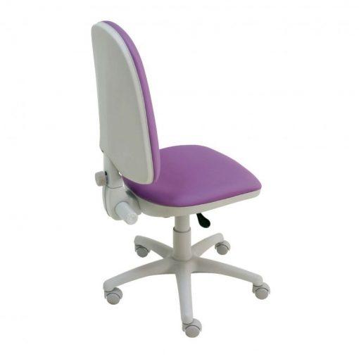 Silla-escritorio-Torino-Gris-morado-lateral