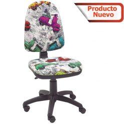 Silla escritorio Torino diseño vespa