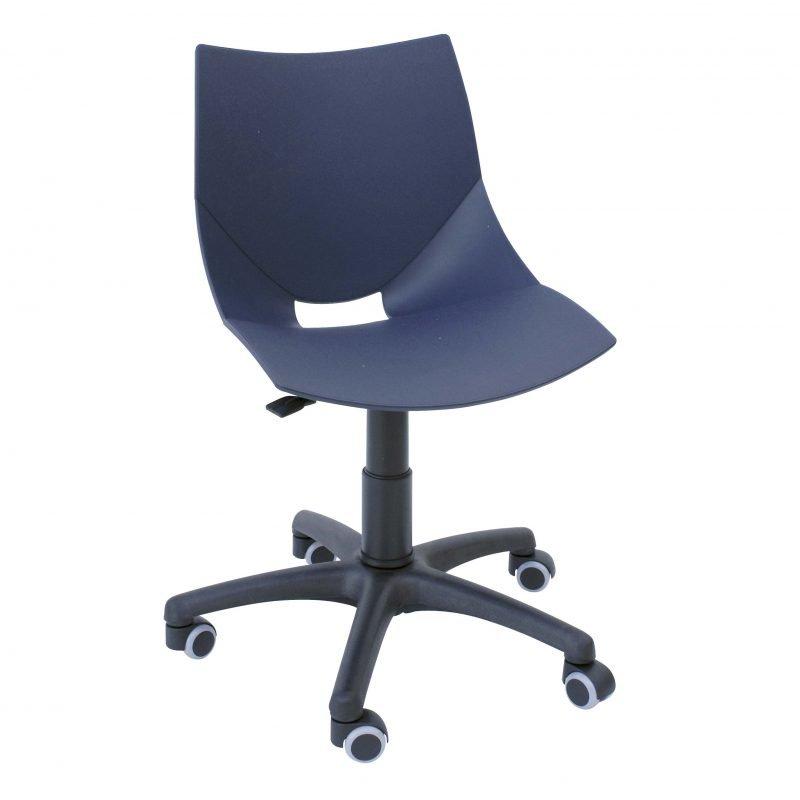 Silla de escritorio shell la silla de claudia for Silla giratoria para escritorio