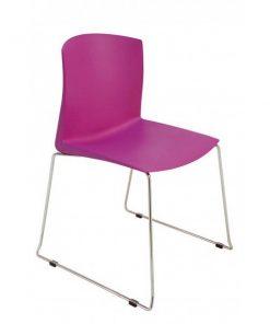 silla de plástico Pull