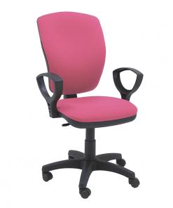 silla-giratoria-con-brazos-escritorio-oficina-Mirage-color-rosa
