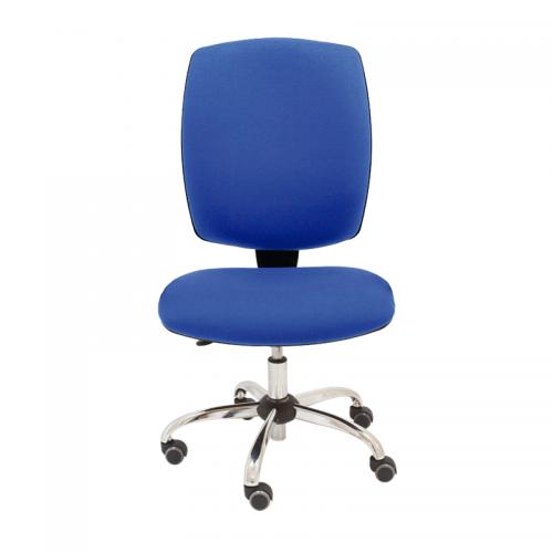 silla-giratoria-tapizada-drop-azul-base-cromada