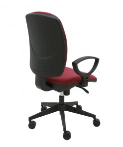 silla-giratoria-tapizada-drop-burdeos-base-negra-trasera