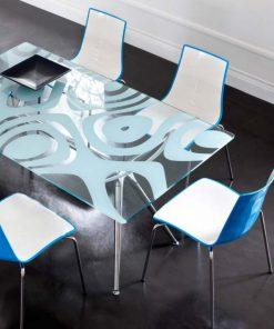 Silla de diseño Zebra Bicolor