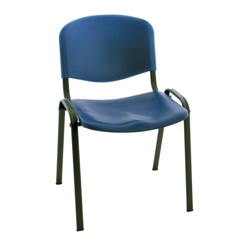 Silla de pl stico iso sillas confidente la silla de for Sillas plastico diseno