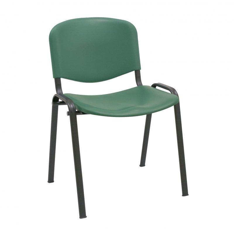 Silla de pl stico iso sillas confidente la silla de - Sillas plastico diseno ...