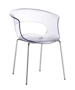 sillón fijo plástico MissB
