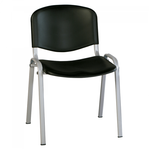 silla-confidente-iso-chasis-gris-negro