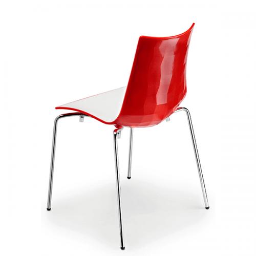 silla-diseño-zebra-bicolor-color-rojo