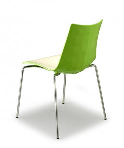 silla-diseño-zebra-bicolor-color-verde