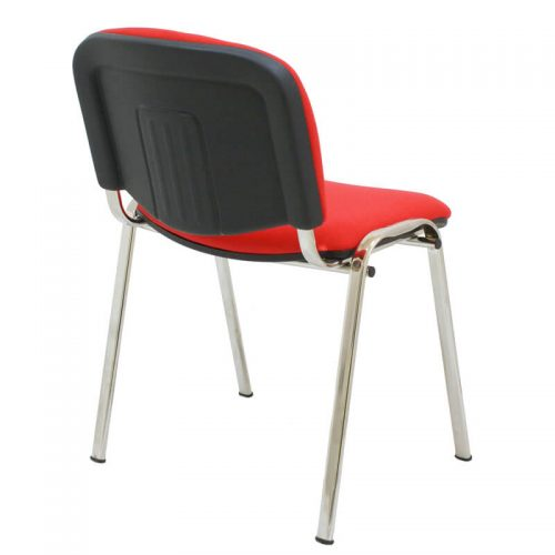 silla-iso-tapizada-chasis-cromado-trasera