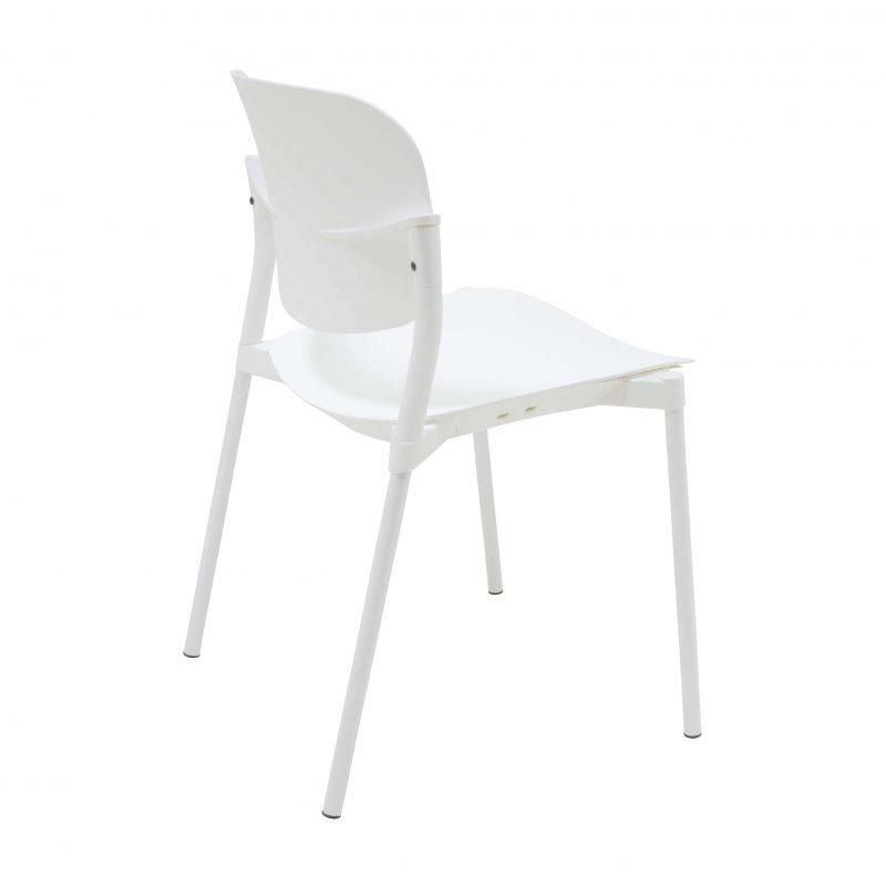 Silla de pl stico step sillas de dise o la silla de for Sillas plastico diseno