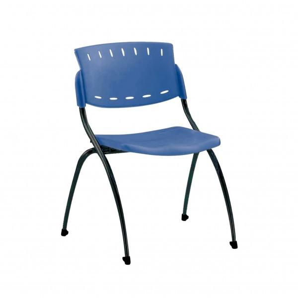 silla fija plástico Tender