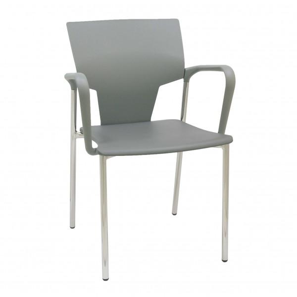 silla fija plástico Aktiva