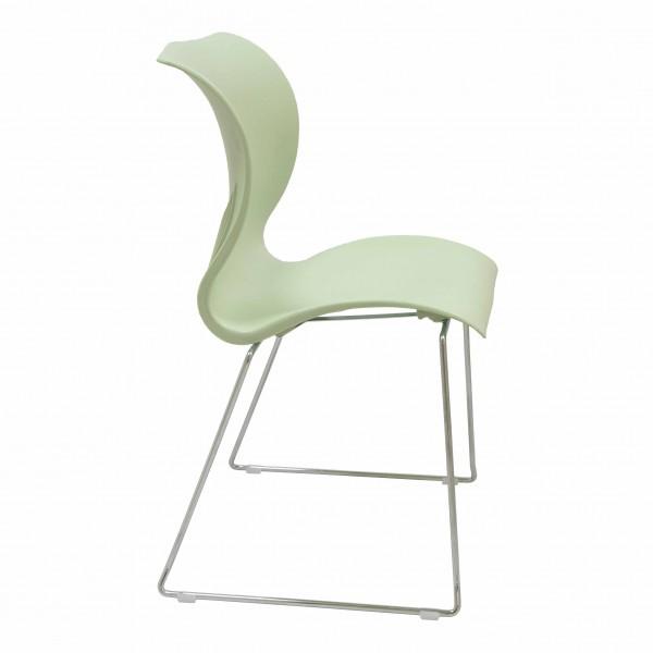 silla fija plástico Atlanta