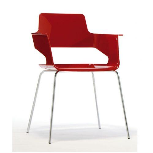 sillón de plástico B-32