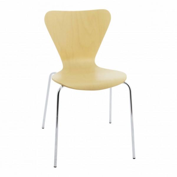 silla fija plástico Jacobsen