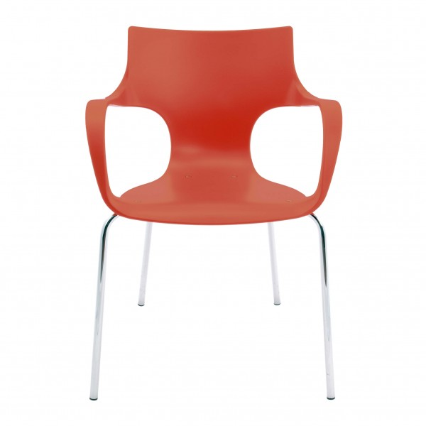 silla fija plástico Jim