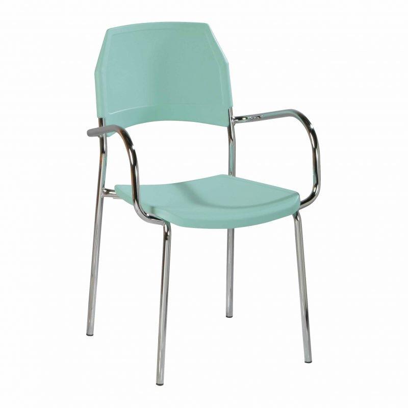 Silla de pl stico kali sillas para cocina la silla de - Sillas para la cocina ...