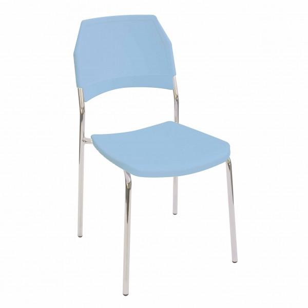 silla fija plástico Kali