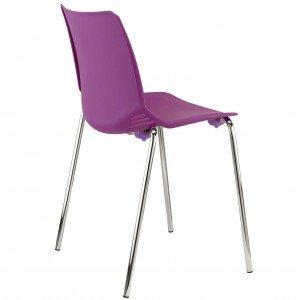 silla de plastico Race