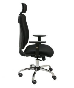 silla-ergonomica-job-negro-con-cabezal-y-base-cromada
