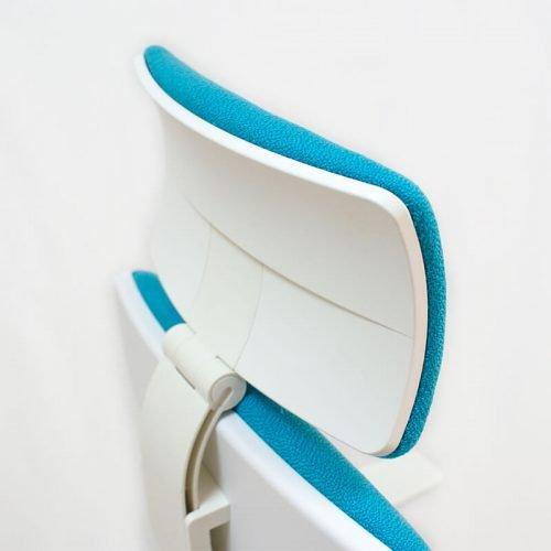 silla-giratoria-blanca-ergonomica-Job-blanco-color-turquesa-cabezal