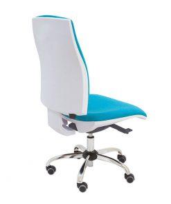 silla-giratoria-blanca-job-tapizado-azul-la-silla-de-claudia