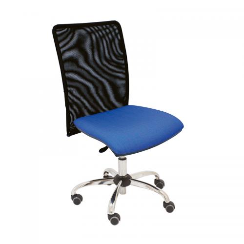 silla-giratoria-india-respaldo-malla-tapizada-asiento-azul-base-cromada