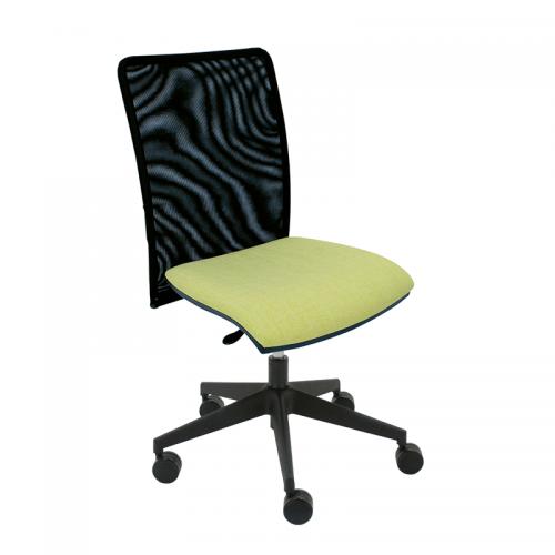 silla-giratoria-india-respaldo-malla-tapizada-asiento-verde-base-negra