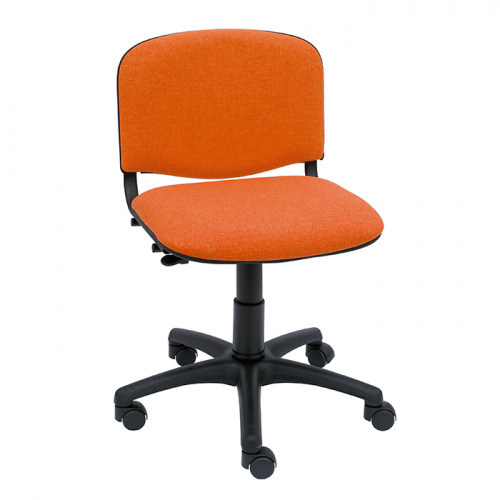 silla-giratoria-iso-con-base-negra-color-naranja