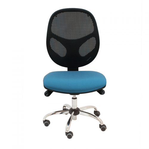 silla-giratoria-loreto-negra-base-cromada-grande-delantera