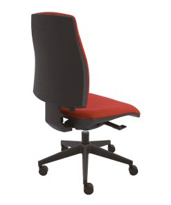 silla-giratoria-negra-job-tapizado-rojo-base-negra-la-silla-de-claudia