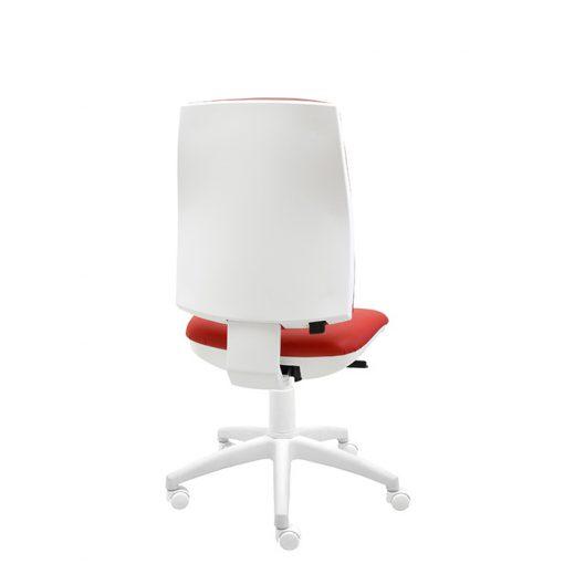 silla-giratoria-oficina-blanca-ergonomica-modelo-Job-polipiel