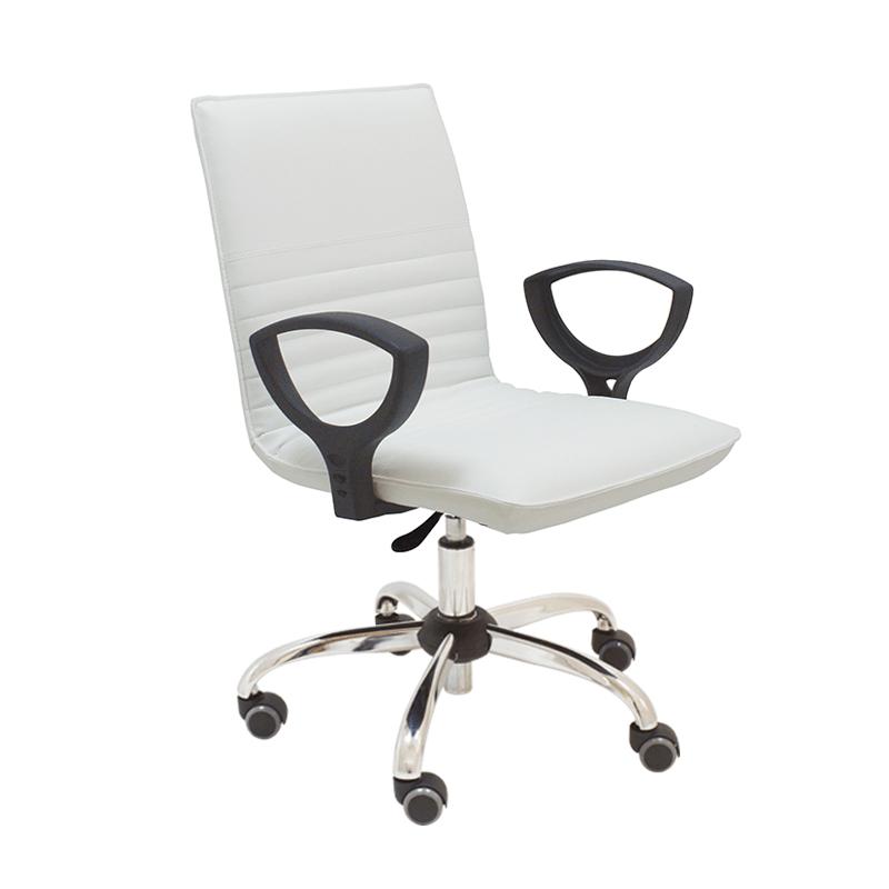 Silla giratoria de oficina en polipiel cindy la silla de for Sillas giratorias de oficina