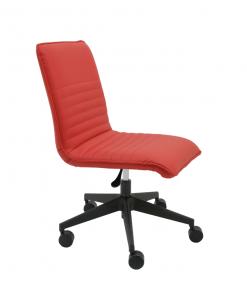 silla-giratoria-oficina-cindy-polipiel-roja