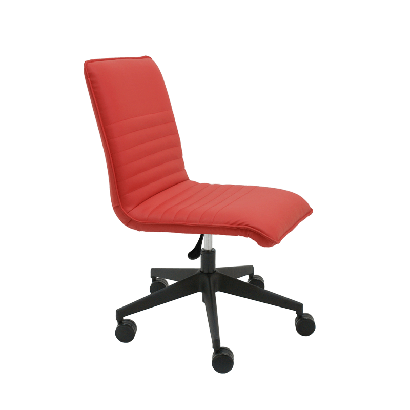Silla giratoria de oficina en polipiel Cindy | La silla de Claudia