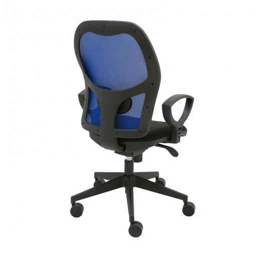 silla-giratoria-q3-negra-malla-azul
