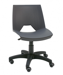 silla-giratoria-strike-polipropileno-perforado-colo-antracita-base-negra