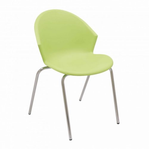 silla fija plástico Smile