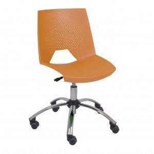 silla giratoria de plástico Strike