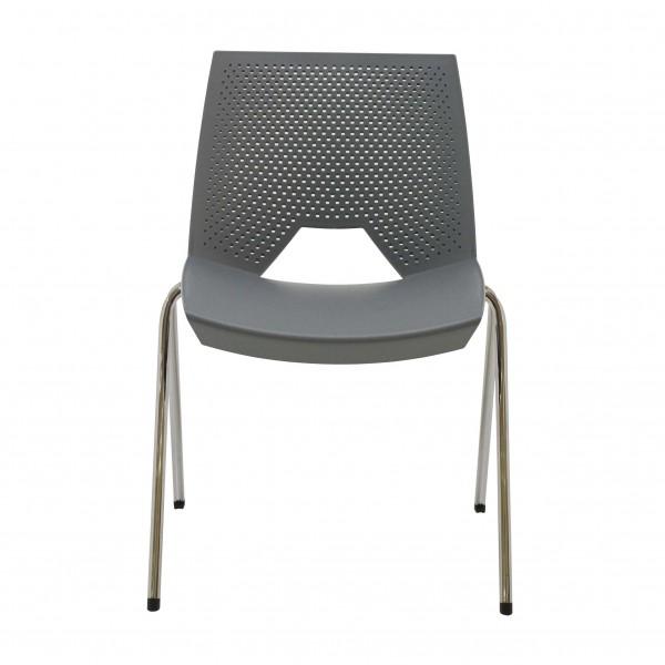 silla fija plástico Strike