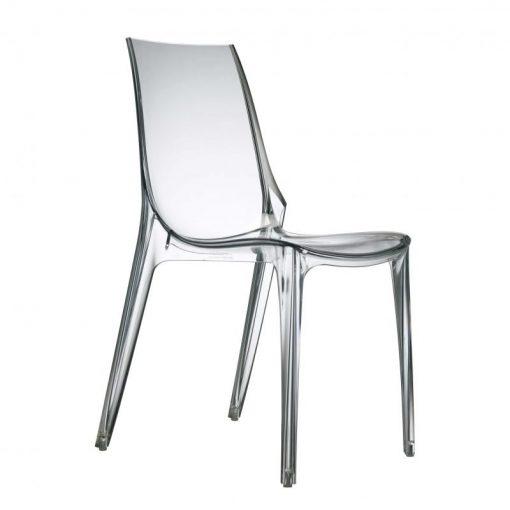 silla fija plástico Vanity