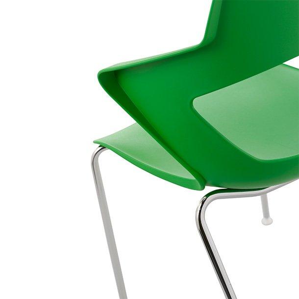 Sill n de pl stico zenith la silla de claudia tu tienda - Sillas plastico diseno ...