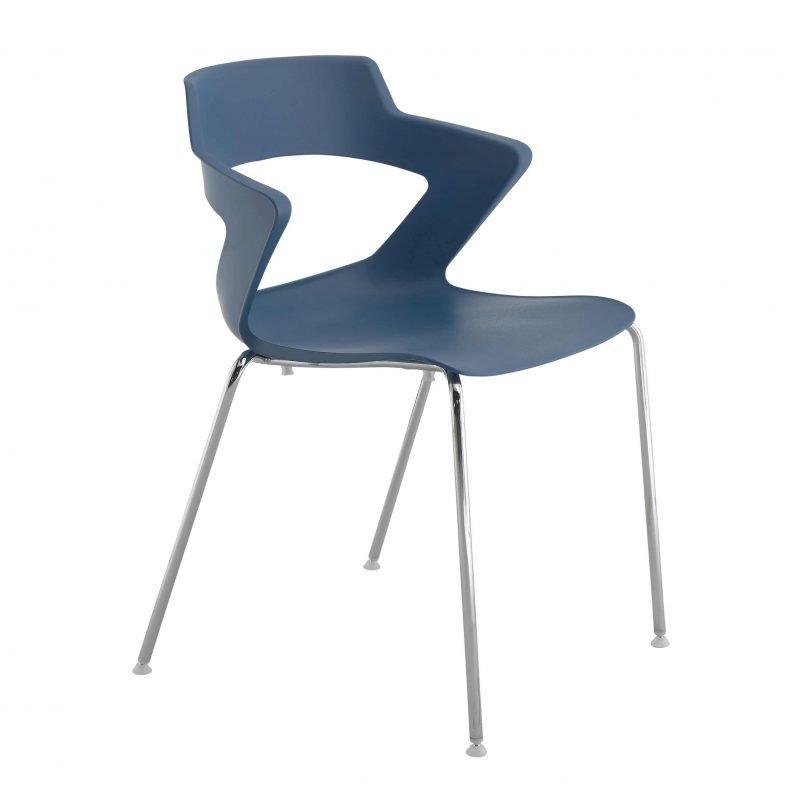 Sill n de pl stico zenith para oficinas la silla de claudia for Repuestos sillas de oficina