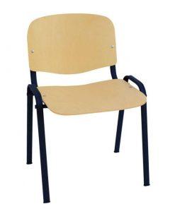 silla de madera Iso