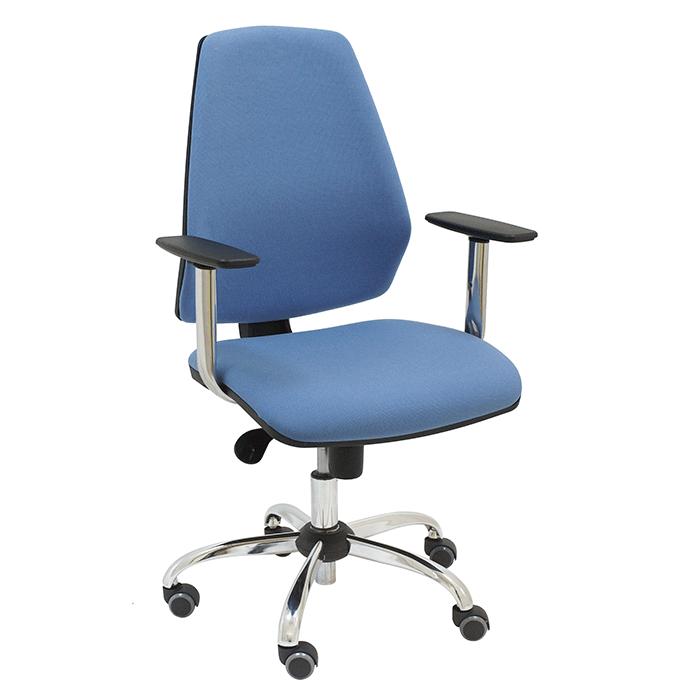 Silla giratoria hexa t para oficina o escritorio la for Silla giratoria escritorio