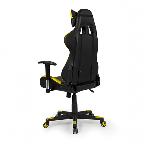 silla-gaming-silverstone-color-amarilla-calidad-premium-trasera