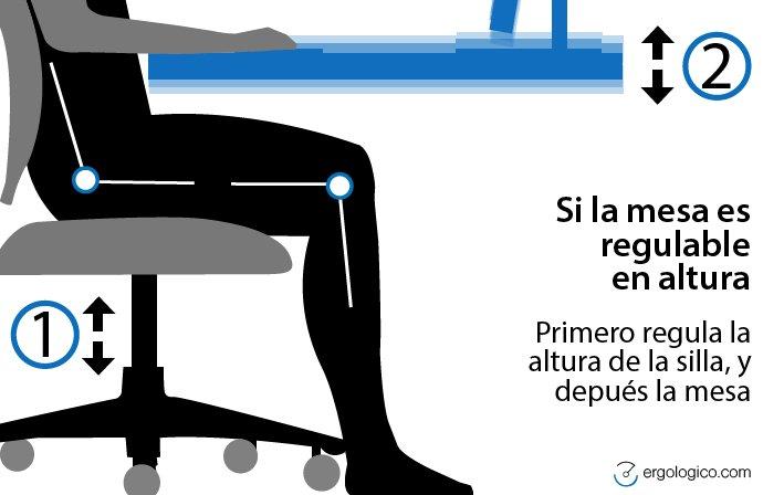 postura-brazo-mesa regulacion altura asiento
